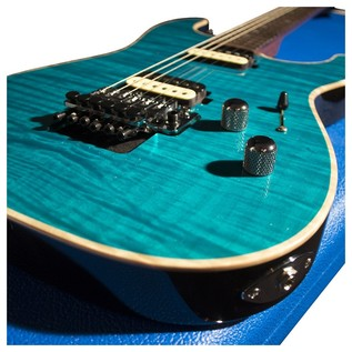 GJ2 By Grover Jackson Glendora NPG Electric Guitar, Peacock