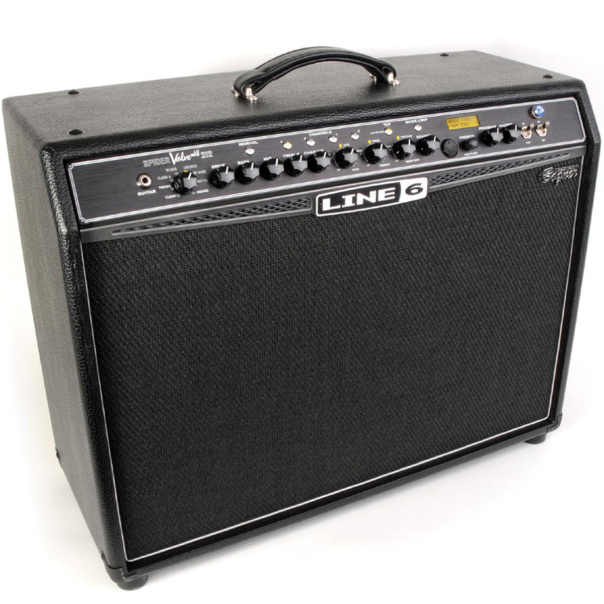 line 6 spider valve 212 mkii tube guitar amplifier ex. Black Bedroom Furniture Sets. Home Design Ideas