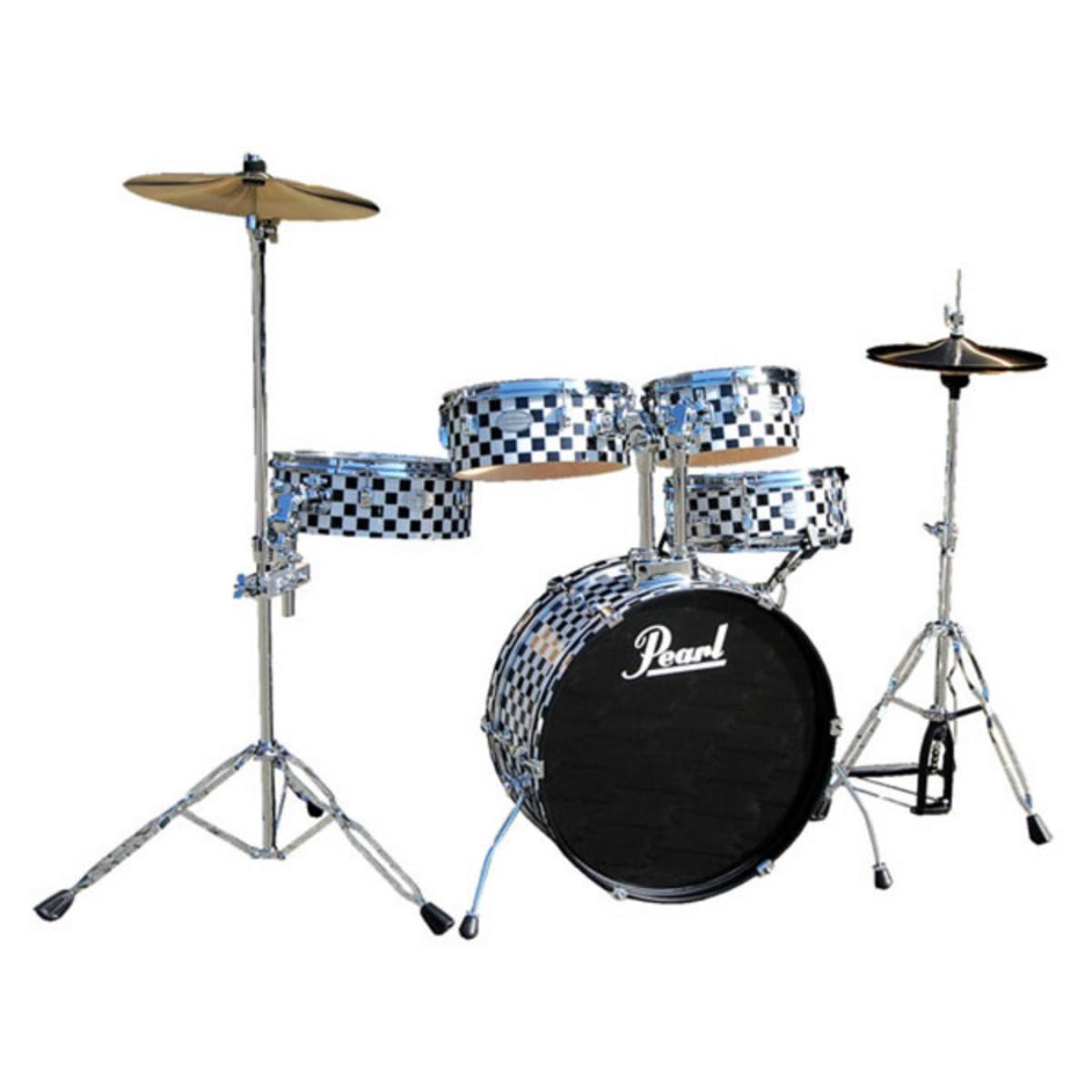 disc pearl rhythm traveler rt705hcc black and white checked kit ltd edition at. Black Bedroom Furniture Sets. Home Design Ideas
