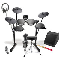 Alesis DM6 USB Electronic Drum Kit Amp Package Deal