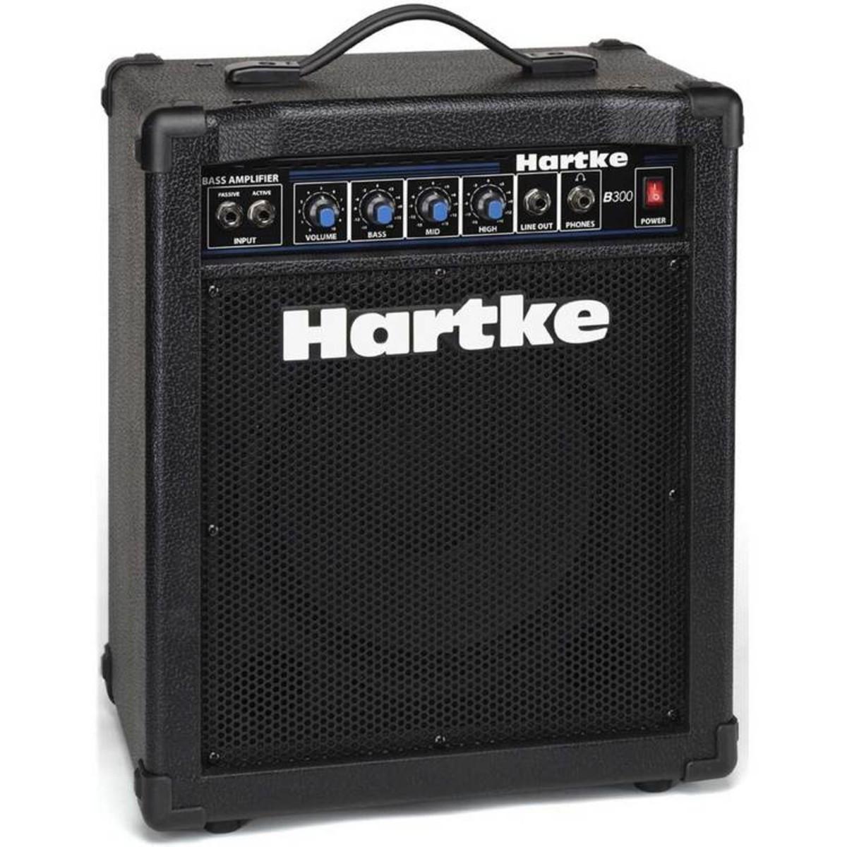 hartke b300 30w bass amp combo at. Black Bedroom Furniture Sets. Home Design Ideas