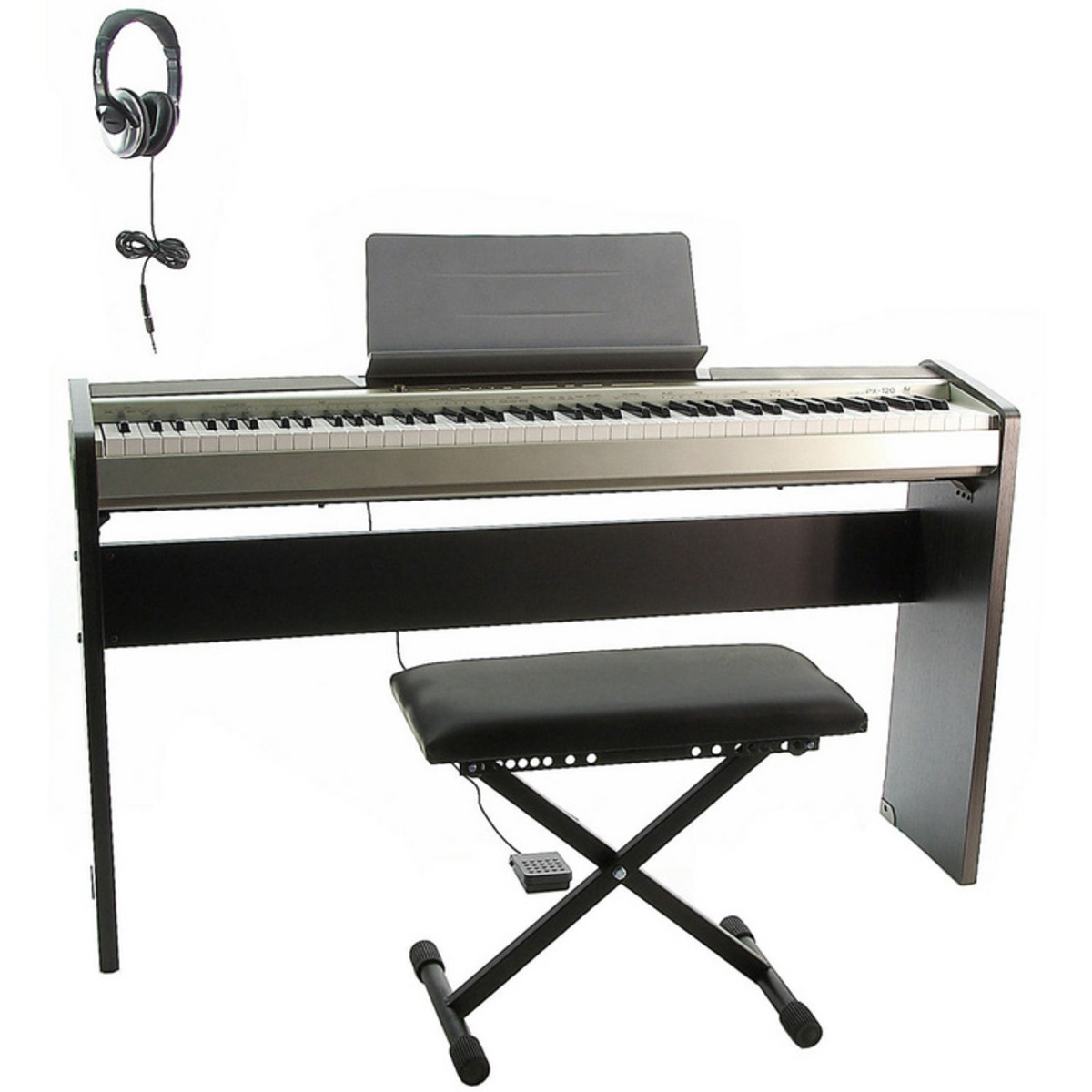 banc de de enceinte et de casio privia px 120 piano. Black Bedroom Furniture Sets. Home Design Ideas