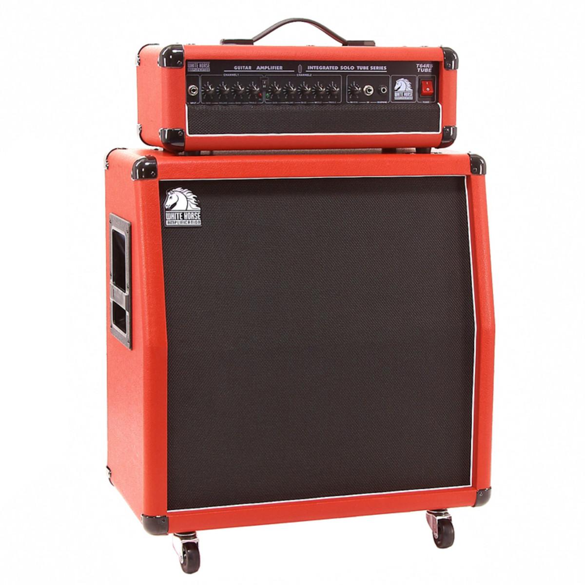 Metal Guitar Amps : metal x guitar white horse 60w tube guitar amp with 4x8 cab red at ~ Hamham.info Haus und Dekorationen