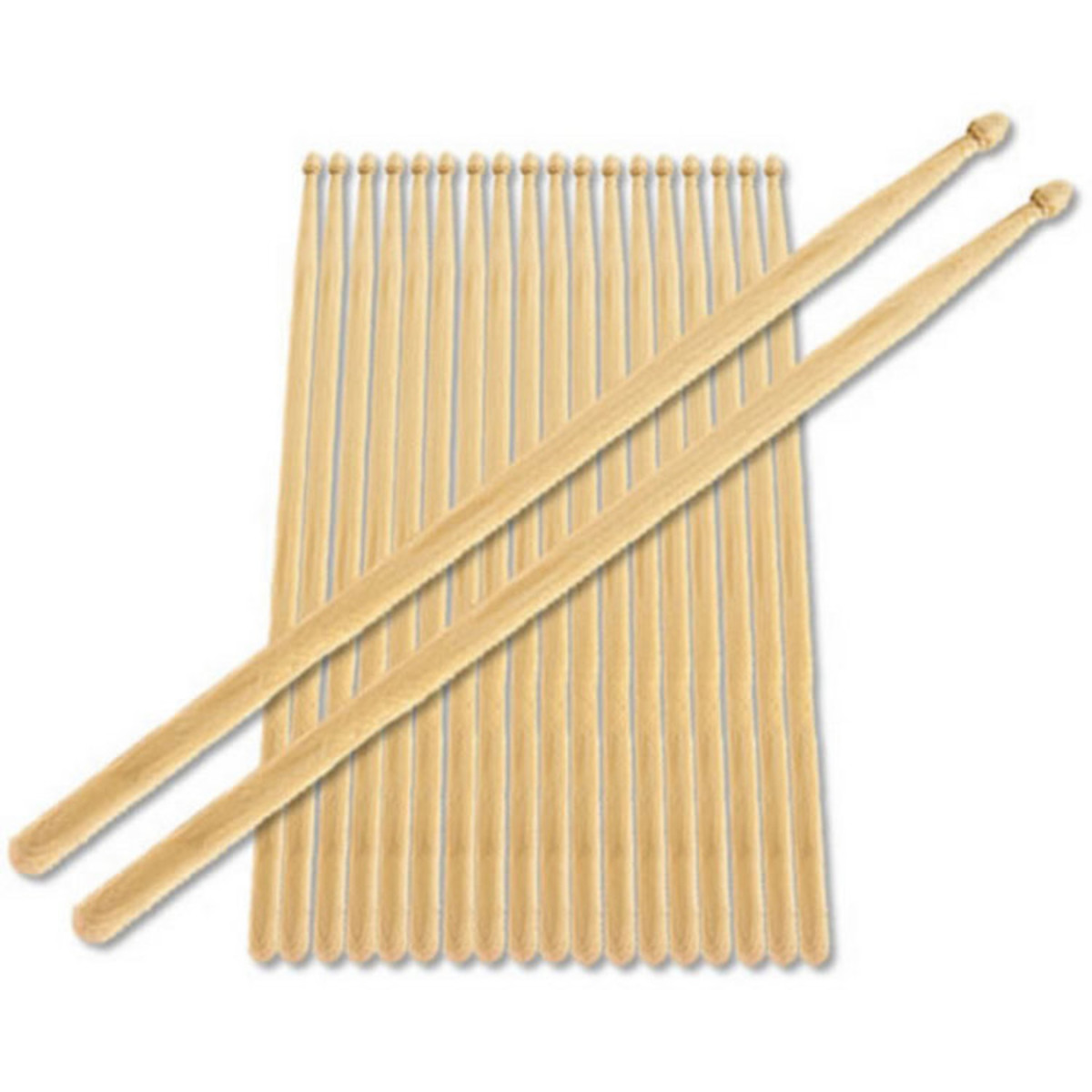 Image of 5A Nylon Tip Maple Drumstick Bundle Pack of 10