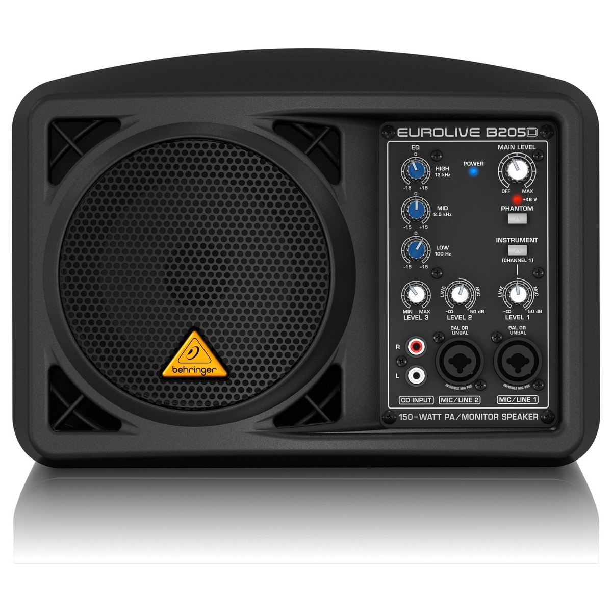 Behringer Eurolive B205d Active 150w Pa Monitor At
