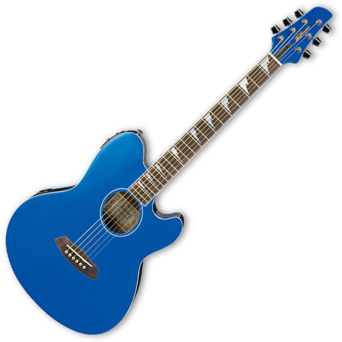 puis ibanez tcy10edx electro acoustique guitare bleu. Black Bedroom Furniture Sets. Home Design Ideas