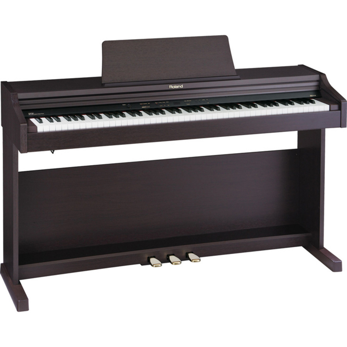 discontinued roland rp 201 digital piano rosewood at. Black Bedroom Furniture Sets. Home Design Ideas