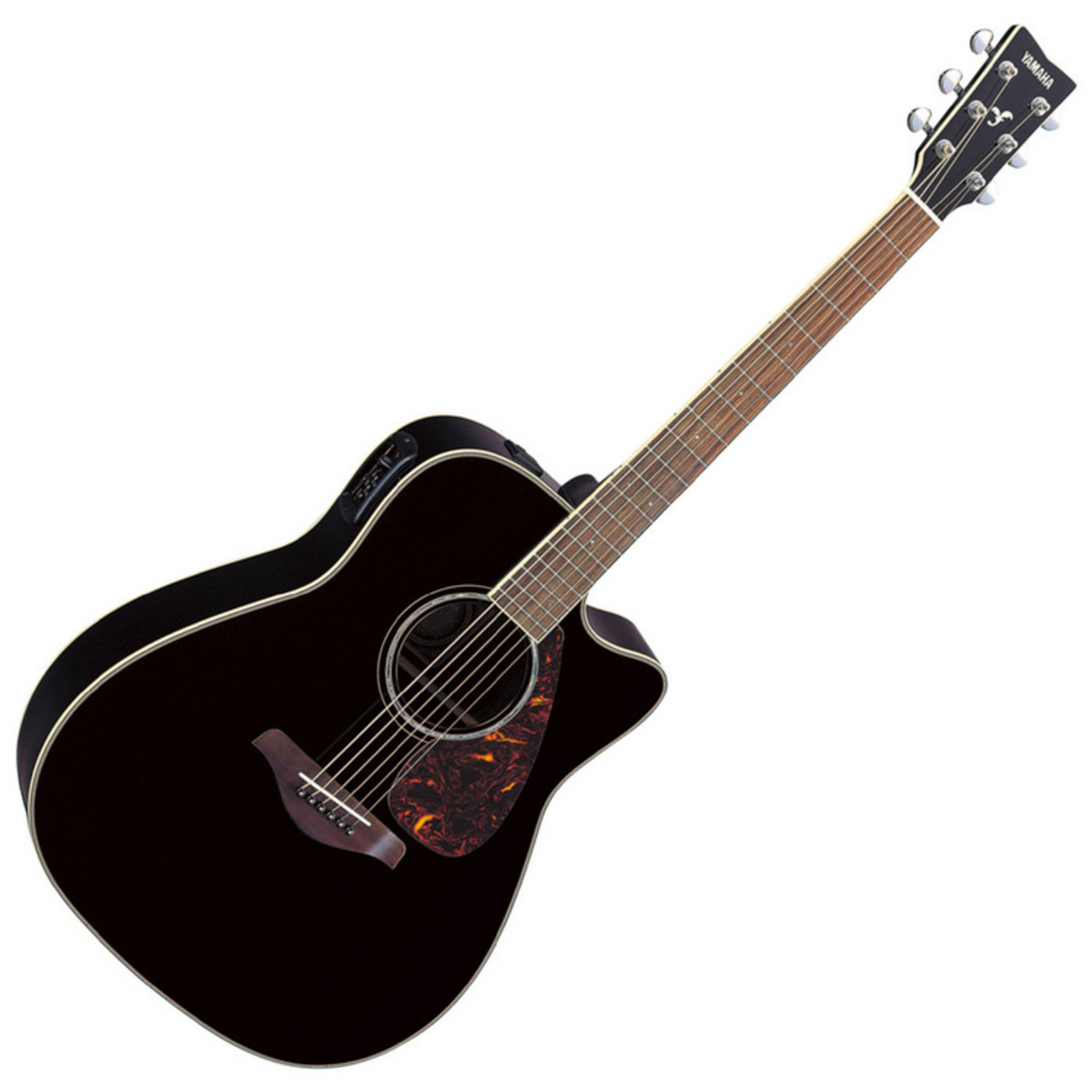 yamaha fgx730sca guitare electro acoustique noir. Black Bedroom Furniture Sets. Home Design Ideas