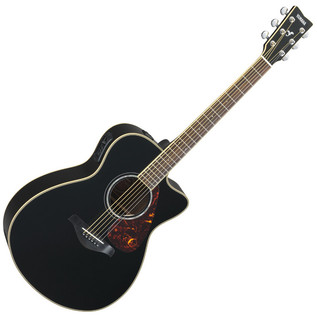 Yamaha FSX730S Electro Acoustic Guitar, Black