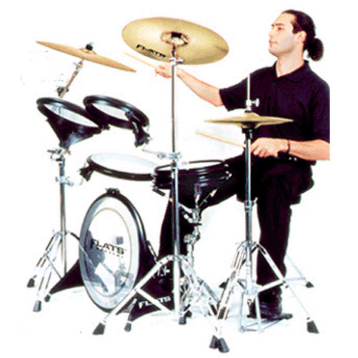Disc Arbiter Flats Lite Drum Kit At Gear4music Com