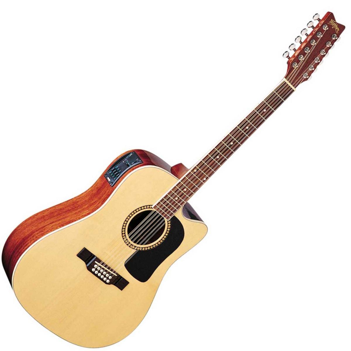 disc washburn d10sce 12 string electro acoustic guitar at. Black Bedroom Furniture Sets. Home Design Ideas