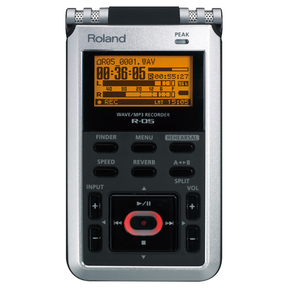 Image of Roland R-05 WAVE/MP3 Audio Recorder