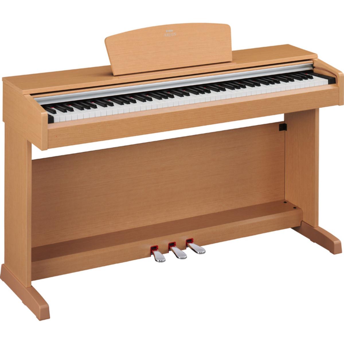 Disc yamaha arius ydp 141 digital piano light cherry at for Yamaha dgx640c digital piano cherry