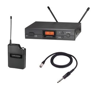 Audio Technica ATW-2110 F Band UniPak Guitar Wireless System