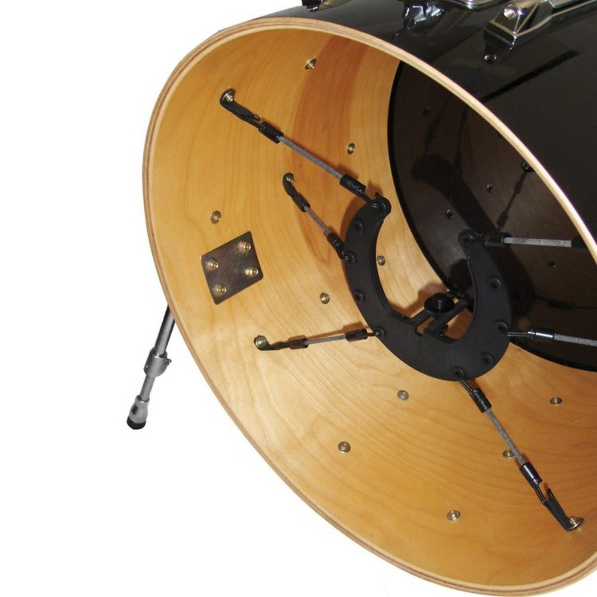 kelly shu composite bass drum mic mount at. Black Bedroom Furniture Sets. Home Design Ideas