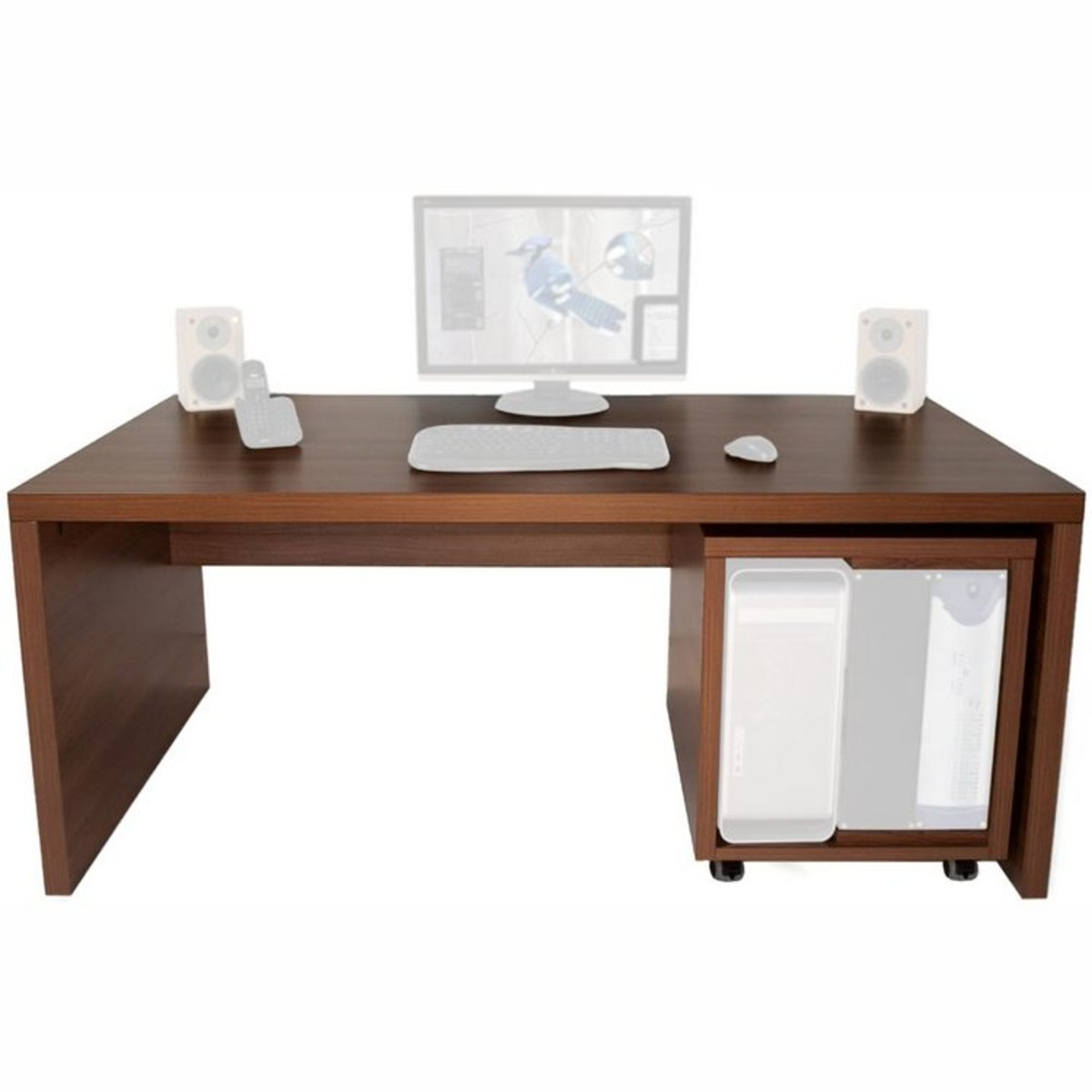 meine gro en schreibtisch gro e tafel 12he 12u offline f r zweir der ta walnuss auf. Black Bedroom Furniture Sets. Home Design Ideas