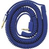 Vox VCC Vintage Coiled Cable, Quality 9m Cable With Mesh Bag, Blue