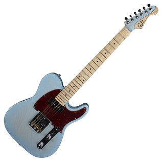 GJ2 By Grover Jackson Hellhound Electric Guitar, Trans Baby Blue