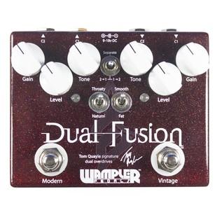 Wampler Dual Fusion Drive Pedal, 2016 Version
