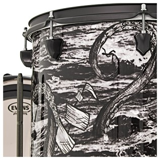 SJC Drums Custom 3 Piece Shell Pack,