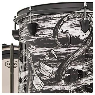 SJC Drums Custom 3 Piece Shell Pack,