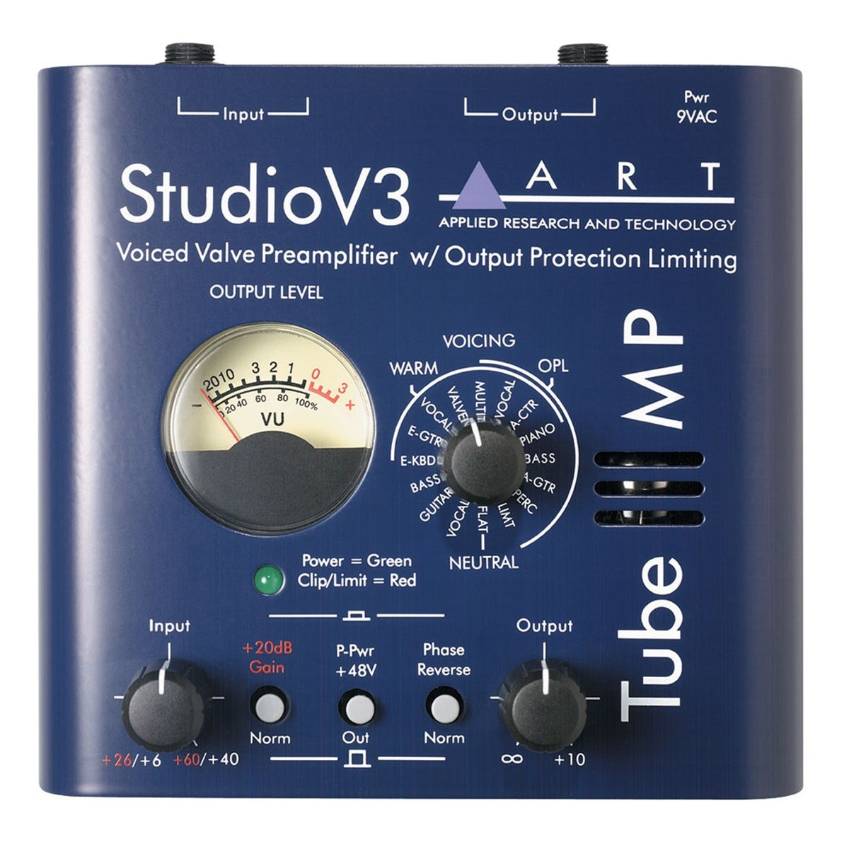 Image of ART Tube MP Studio V3 Mic Preamp