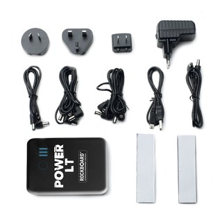 RockBoard by Warwick Power LT Lithium-Ion Rechargeable Battery, Black