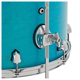 SJC Custom Drums 22 3 Piece Shell Pack Teal Stain
