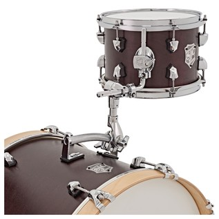 SJC Drums Club Series 3 Piece Shell Pack Burgundy Satin Stain