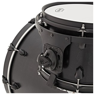 SJC Drums Tour Series 3 Piece Shell, Black HW