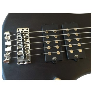 Warwick Rockbass Corvette $$ 5-String Bass Guitar, Nirvana Black