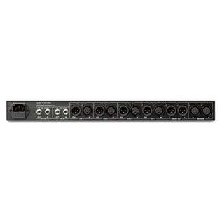Denon Split Mix 6 Mixer with Splitter Functionality - Rear