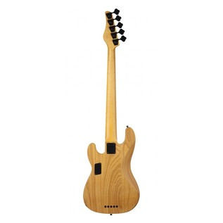 Schecter Model-T Session-5 Bass Guitar, Natural Satin