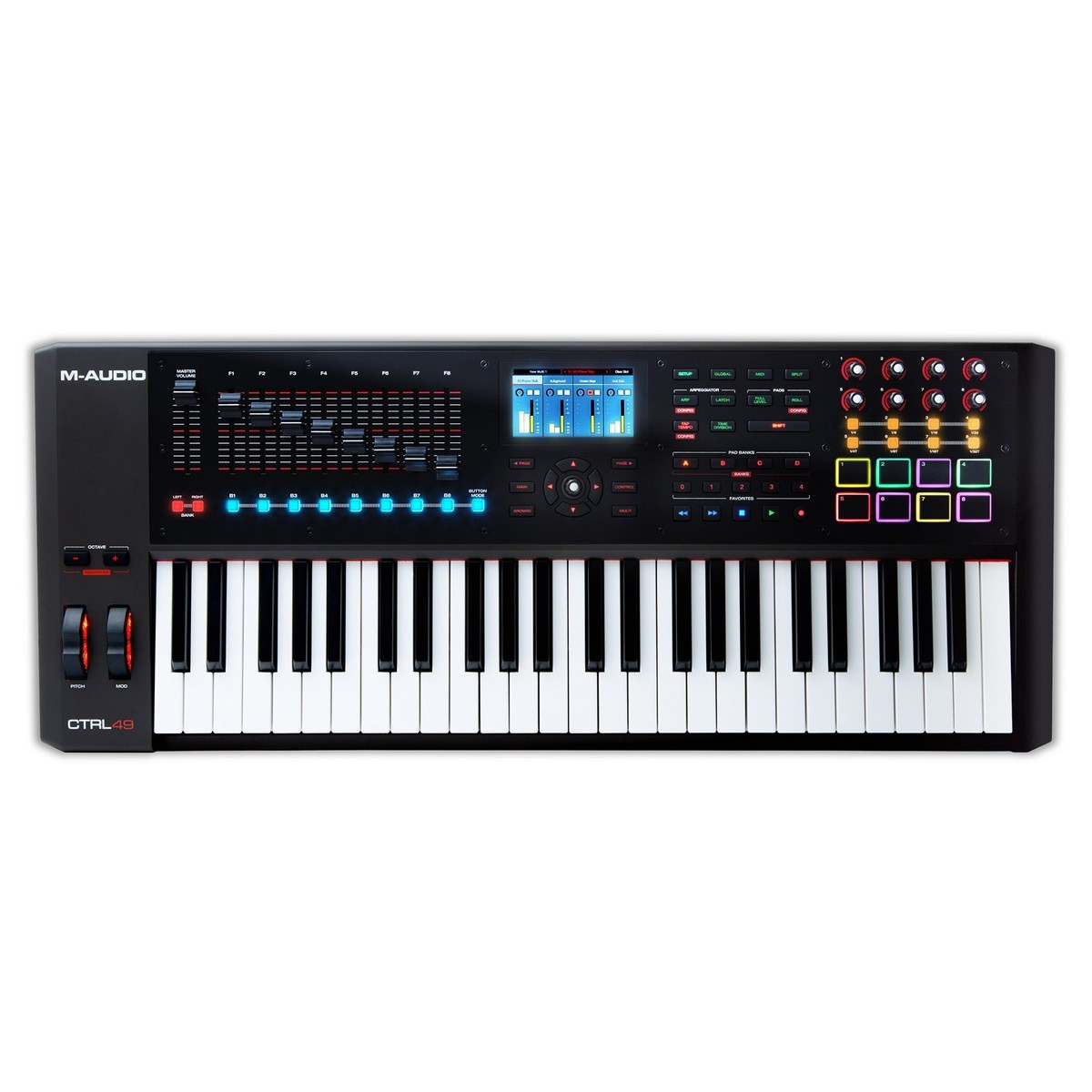 Cheap M-Audio CTRL-49 MIDI Controller