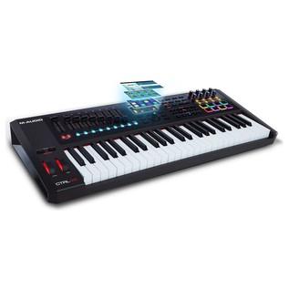 M-Audio CTRL-49 MIDI Controller - Angled
