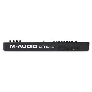M-Audio CTRL-49 MIDI Controller - Rear