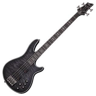 Schecter Hellraiser Extreme-4 Bass Guitar,See-Thru Black