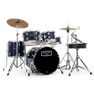 Mapex Tornado III Compact 18'' Drum Kit, Blue