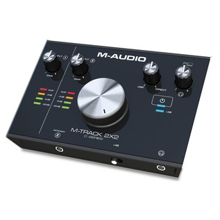 M-Audio M-Track 2x2 Audio Interface - Front Angled