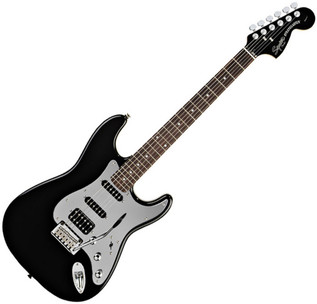 Squier by Fender Standard Fat Strat Special Edition, Black Mirror