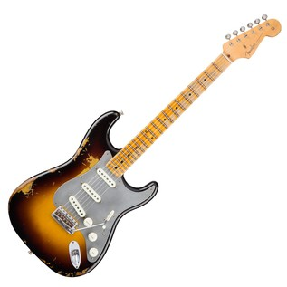 Fender Custom Shop LTD El Diablo Strat, Wide Faded 2-Colour Sunburst