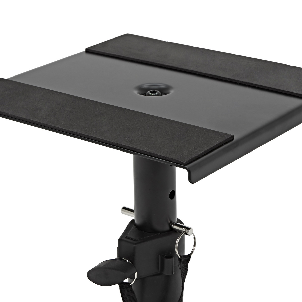 Desktop Monitor Speaker Stands by Gear4music, Pair - Box Opened at Gear4music.com
