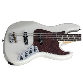 Schecter Diamond-J Plus Bass Guitar, Ivory