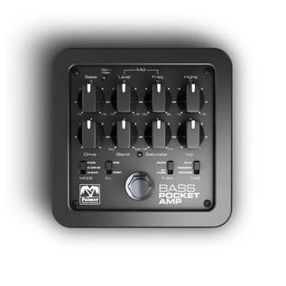 Palmer MI Pocket Amp Bass, Portable Preamp for Bass Guitars