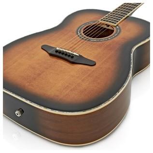 Silvertone 633E Elite Electro Acoustic Guitar, Vintage Sunburst