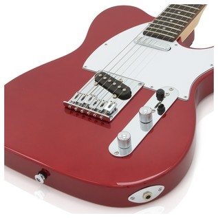 Greg Bennett Formula FA-1 Electric Guitar, Midnight Red