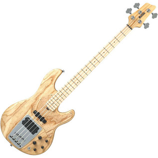 Ibanez ATK810-NTF Bass Guitar - Angled View