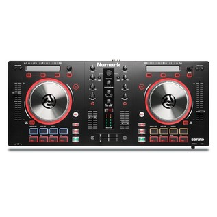 Numark Mixtrack Pro 3 with Upgrade to Serato DJ - Top