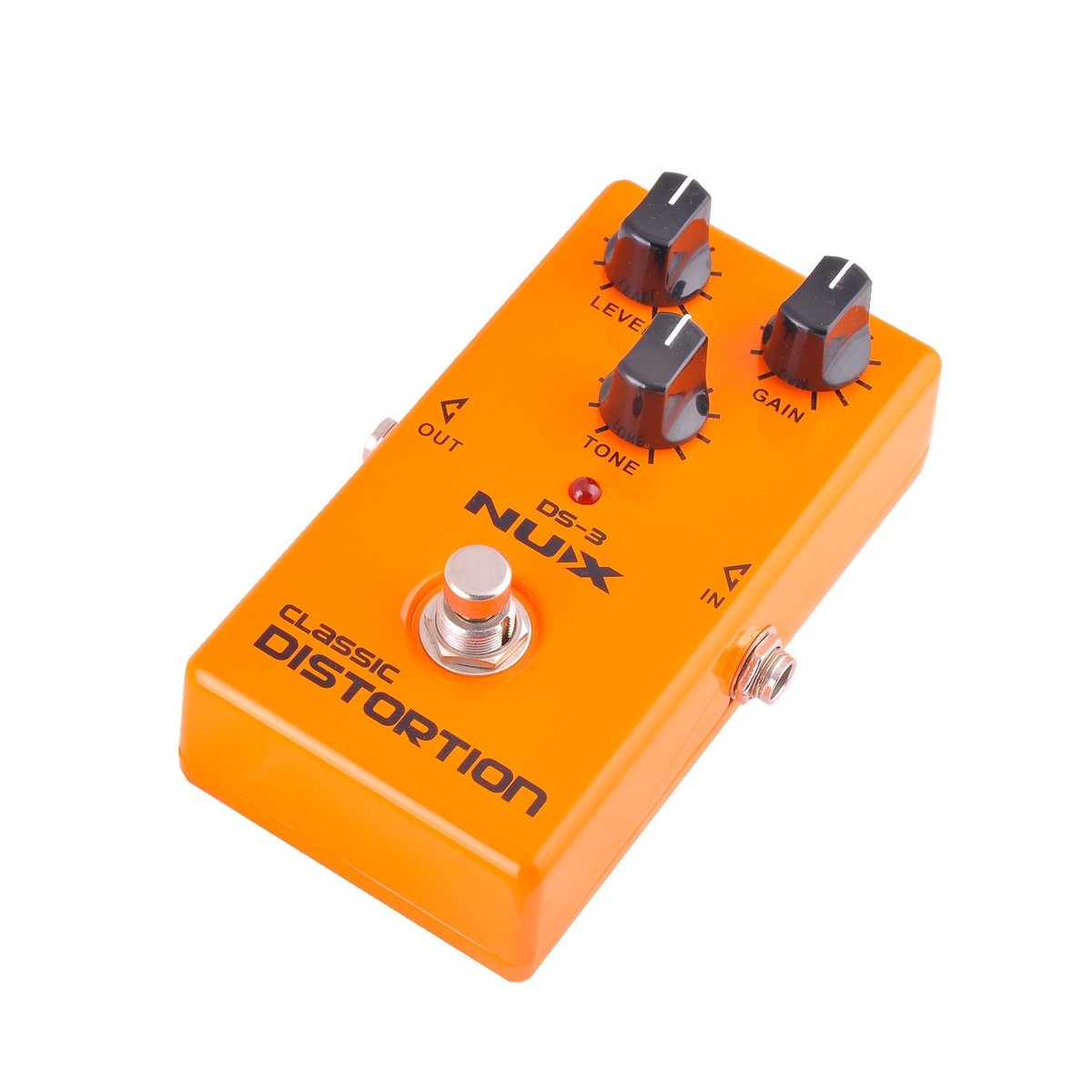 nux ds 3 distortion guitar effects pedal at. Black Bedroom Furniture Sets. Home Design Ideas