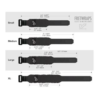 Gruv Gear FretWraps Wood 3-Pack Prints, Large